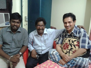 27-1-12 -- With 6th Sense Karthi n Suntvp