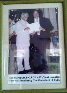 B C Roy Award