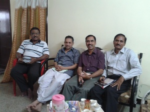 With Nursadik, Raja n Manivannan
