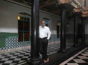 Me in Athangudi Aranmanai