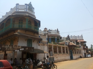 Athangudi Aranmanai from the street