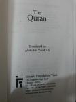 Yufuf Ali Q