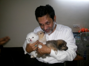 With Puppies-4