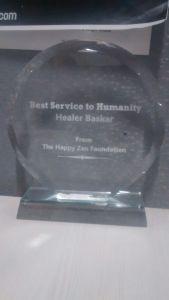Award to Hr Baskar